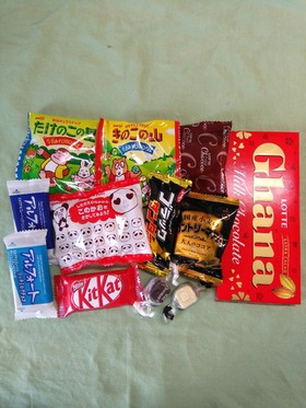 冷凍チョコのお菓子♪子供の簡単おやつに♪