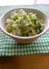 シンプルが美味♪高菜の浅漬け→混ぜご飯