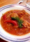 鶏肉のトマト煮(チキンカチャトーラ)