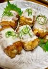 豆腐の肉巻き
