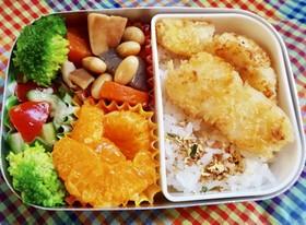 3歳息子のお弁当②鱈フライ