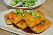 豆腐ギーステーキの写真