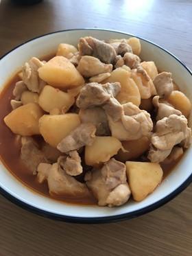 ヘルシー☆鶏肉とジャガ芋のコチュジャン煮