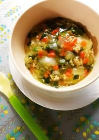 離乳食 幼児食*野菜とそぼろのあんかけ*