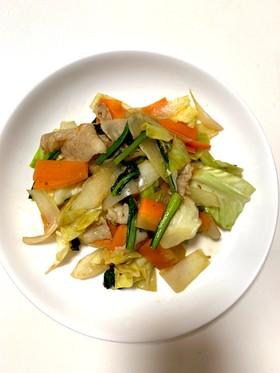 焼肉のタレで味付け簡単!野菜炒め