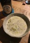 ドイツ人に教わったポロねぎのチーズスープ
