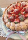 ピンクがかわいい♡ラズベリーチーズケーキ