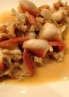ホッキ貝の味噌バター炒め