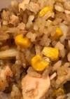 ★鮭とコーンとじゃがいもの炊き込みご飯★