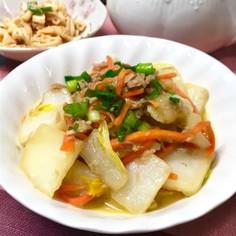 副菜♡とろとろ白菜とツナの炒めもの♡