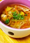 圧力鍋で作る和風だしササミ野菜スープ☆