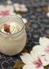 桜のミルクプリン
