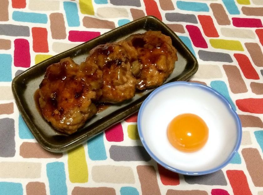 超簡単☆れんこんの食感が楽しい鶏つくね