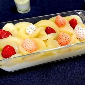 フルーツヨーグルトムース♡