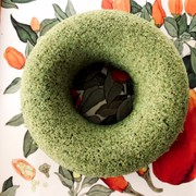 米粉のヨモギ蒸しパン☆ノンオイルの写真
