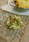 サニーレタスと卵のサラダ