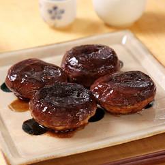 椎茸肉詰めステーキ