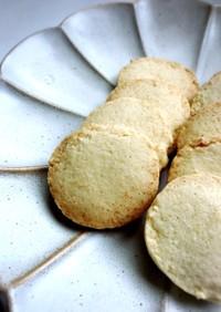 ココナッツ アイスボックスクッキー