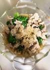 レンジで簡単豚こまとブロッコリーの甘辛煮