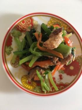 鯖の味噌煮缶で簡単一品