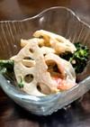 簡単おもてなし惣菜✨デリ風レンコンサラダ