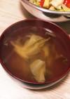 キャベツとささみのコンソメスープ
