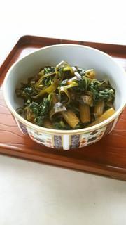 【野菜ソムリエ】ふきの佃煮の写真