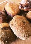 HMとだんご粉で揚げパン風ドーナツ