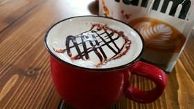 マリームでカフェモカ
