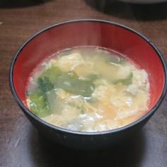 3分で出来る中華風玉子スープ