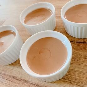 フープロで簡単 チョコムース