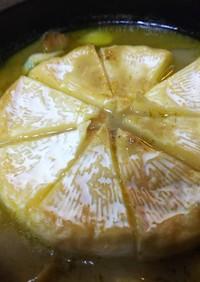 簡単絶品・チーズとタイカレーのアヒージョ