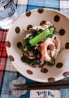 5分副菜!小松菜とちくわのツナ塩昆布和え