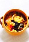 野菜たっぷり!ヘルシー味噌坦々スープ