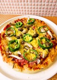 ☺簡単♪すぐ作れる基本のピザ生地☺