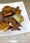 大根と豚肉(鶏モモでも)の炒め物