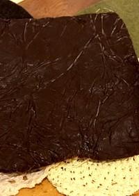 チョコレートシート(折り込みパン用)