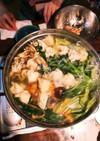 父の発案、母お手製ワンタンの野菜鍋★☆