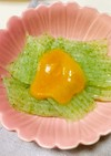 刺身こんにゃくの酢味噌・甘酢だれ