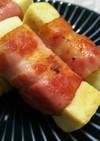 ✿簡単美味しい♪こうや豆腐ベーコン巻き✿