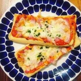 ヘルシー◎油あげで作るピザ