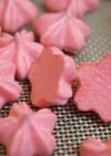 桜のメレンゲクッキー