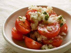 簡単♪ミニトマトの和風マリネ【常備菜】
