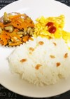 【子供の朝食】野菜きんぴら