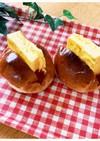 厚焼き玉子のロールパン