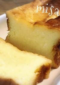 パウンド型☆de☆ダブルチーズケーキ☆