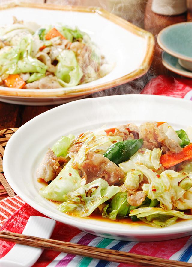 黄金 肉野菜炒め