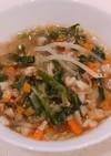 給食の献立をアレンジ!中華春雨スープ
