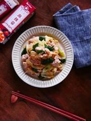 回鍋肉風★キャベツと豚肉のレンチン炒めの写真