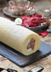 紅玉で*タルトタタン風ロールケーキ